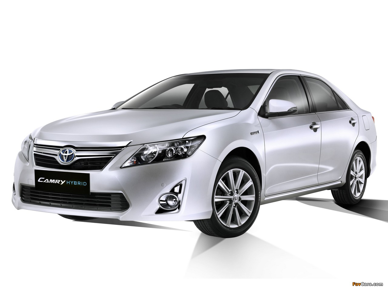 Toyota Camry Hybrid JP-spec 2011 wallpapers (1280x960)