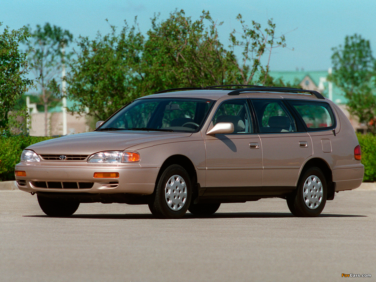 Toyota Camry Wagon Us Spec Xv10 1992 96 Wallpapers