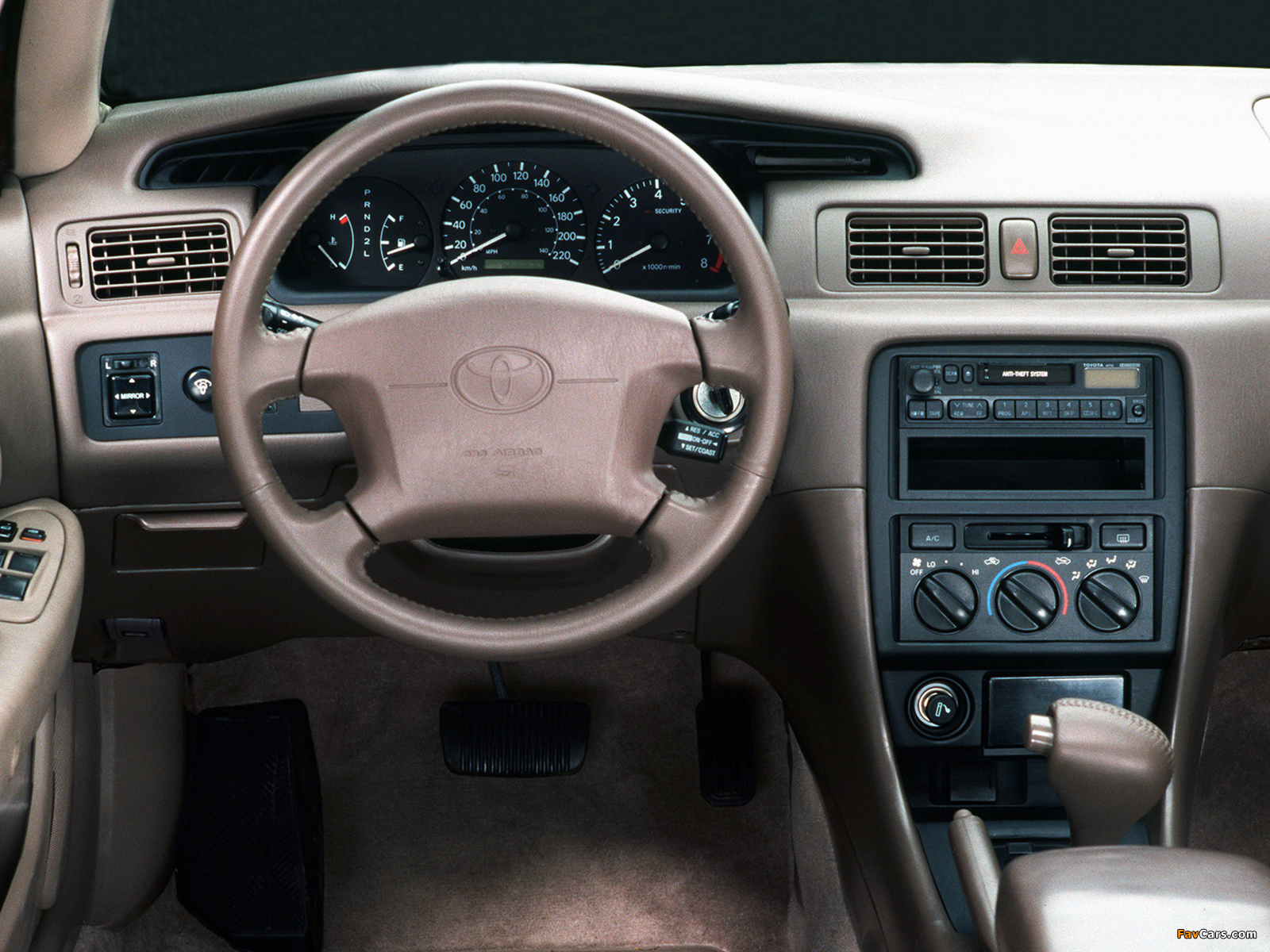 Toyota Camry US-spec (MCV21) 1997–99 wallpapers (1600 x 1200)