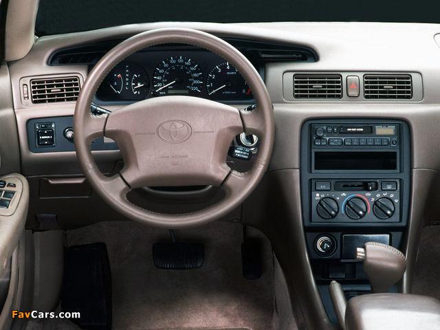 Toyota Camry US-spec (MCV21) 1997–99 wallpapers (640 x 480)