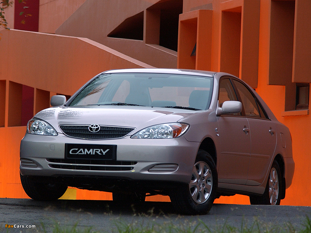 Toyota Camry ZA-spec (ACV30) 2001–04 wallpapers (1024 x 768)