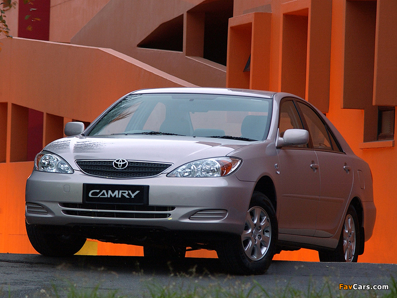 Toyota Camry ZA-spec (ACV30) 2001–04 wallpapers (800 x 600)