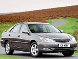 Toyota Camry UK-spec (ACV30) 2002–06 wallpapers