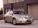 Toyota Camry Ateva 2006–09 wallpapers