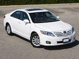 Toyota Camry XLE 2009–11 wallpapers