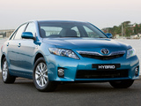 Toyota Camry Hybrid AU-spec 2009–11 wallpapers