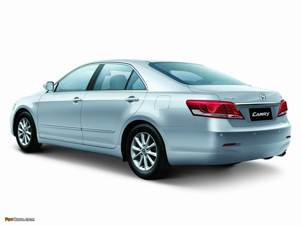 Toyota Camry TH-spec 2009–11 wallpapers (1024 x 768)