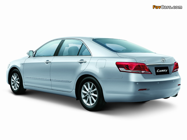 Toyota Camry TH-spec 2009–11 wallpapers (640 x 480)