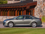 Toyota Camry Hybrid US-spec 2011 wallpapers