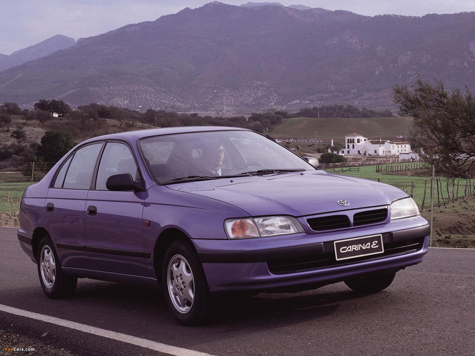 Отзывы владельцев Toyota Carina E (Тойота Карина Е) с ФОТО