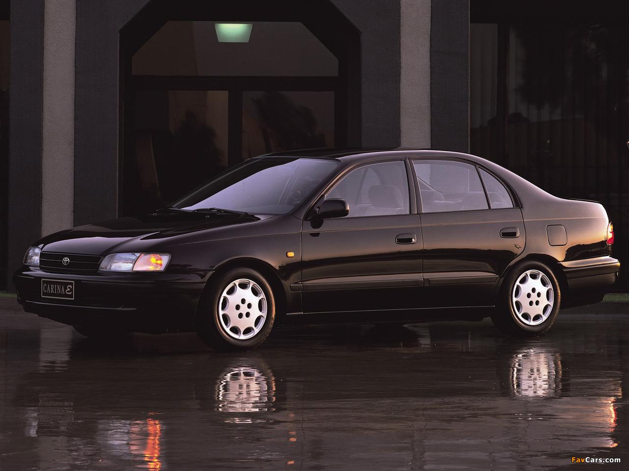 Toyota Карина е 4