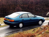 Toyota Carina E Liftback UK-spec 1996–97 pictures