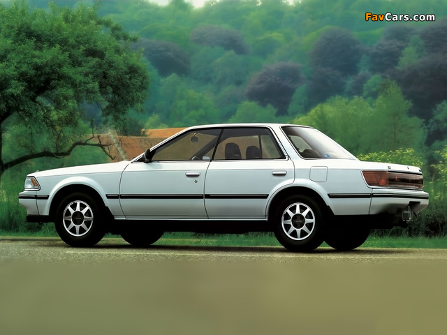 Toyota Carina Ed St160 1985 89 Wallpapers 640x480