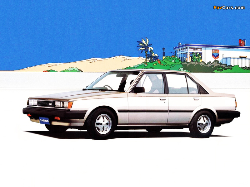 Photos Of Toyota Carina Se 4 Door Sedan A60 1983 88