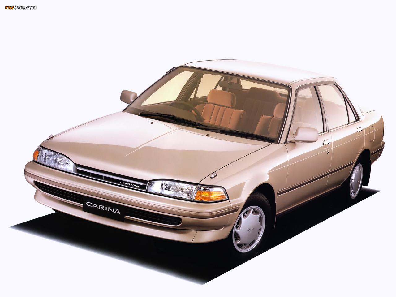 Toyota Карина 2 1989 #10