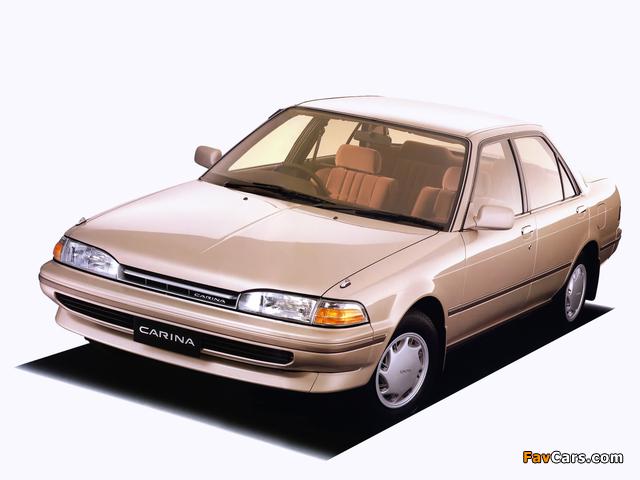 характеристика Toyota Карина 2 #9
