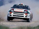 Pictures of Toyota Celica Turbo 4WD Group A (ST185) 1992–94