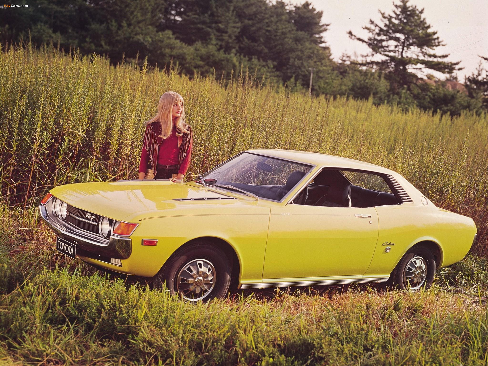 Toyota celica st coupe eu spec ta22 ra20 1972 75 pictures
