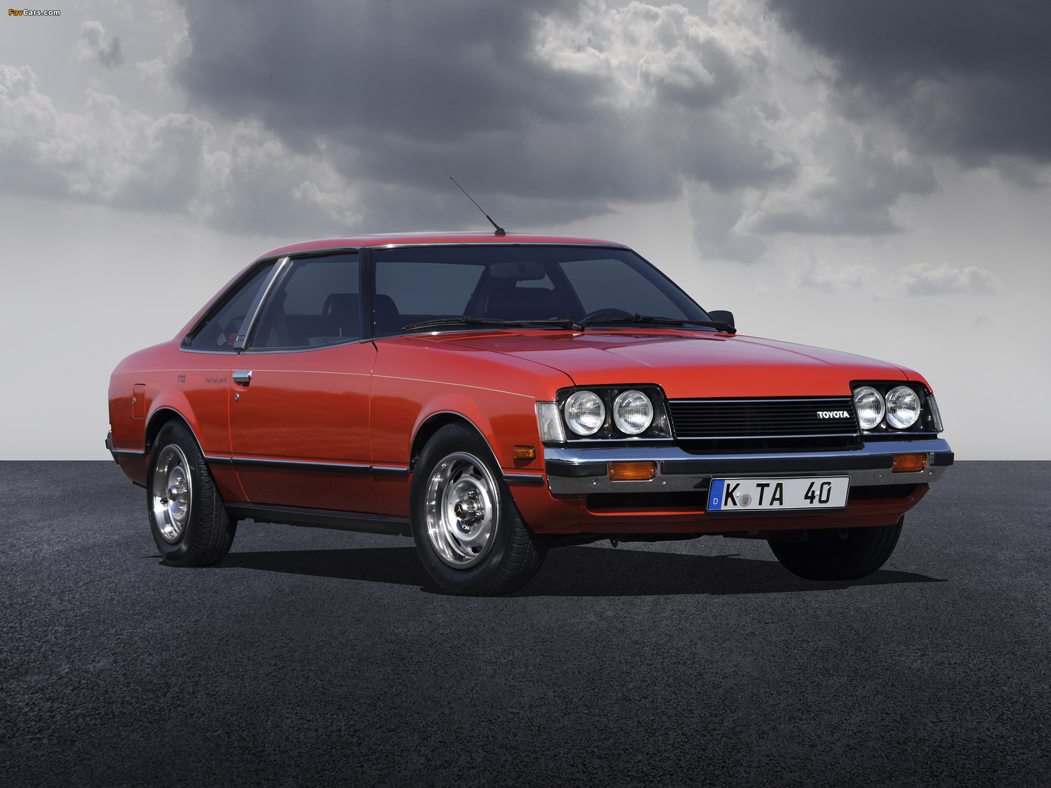 Toyota Celica Gt Coupe Eu Spec Ta40 1977 79 Photos