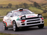 Toyota Celica Turbo 4WD Group A (ST185) 1992–94 wallpapers