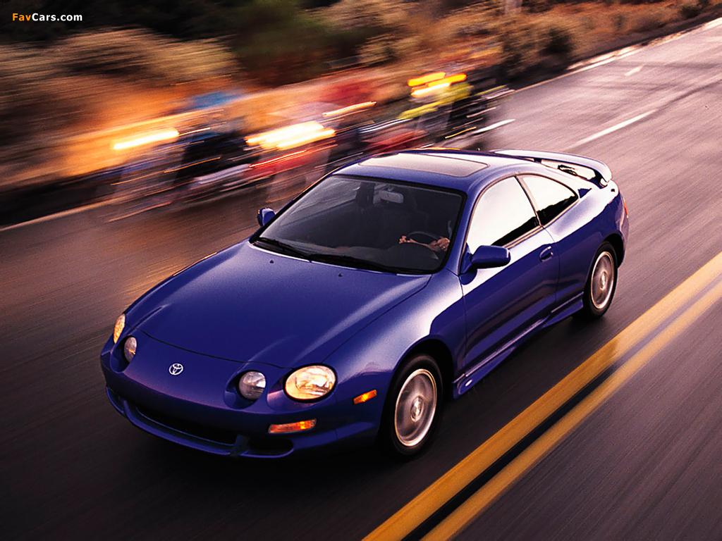 Toyota Селика максимальная скорость #11