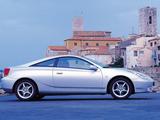 Toyota Celica 1999–2002 wallpapers