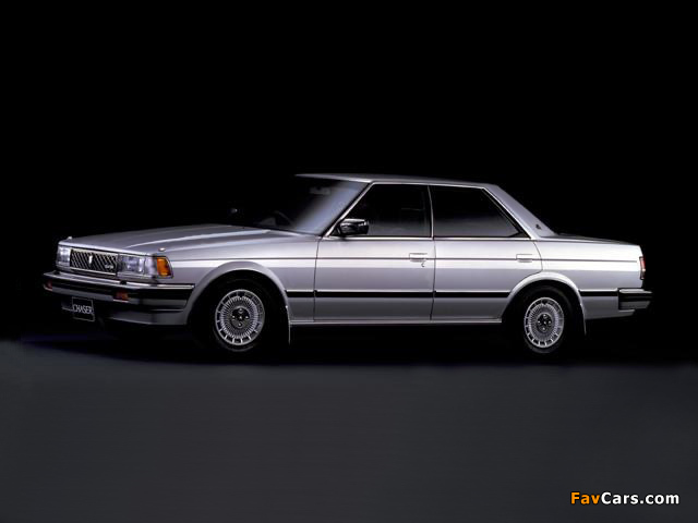 Photos of Toyota Chaser (70) 1984–88 (640 x 480)