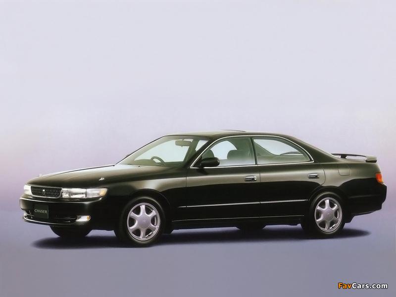 Photos of Toyota Chaser Tourer V (JZX90) 1992–94 (800 x 600)