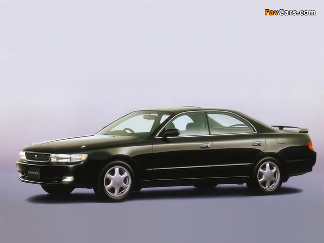 Photos of Toyota Chaser Tourer V (JZX90) 1992–94 (640 x 480)