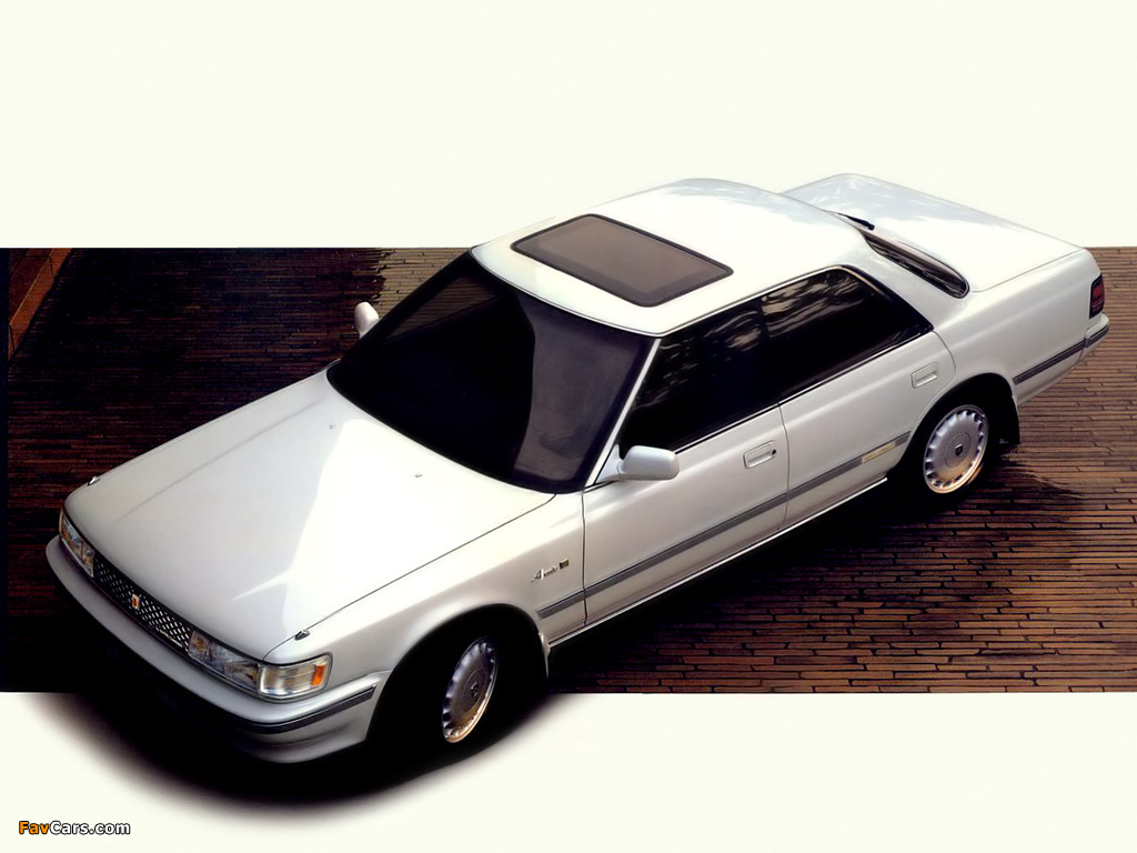Toyota Chaser (X80) 1988 photos (1024 x 768)