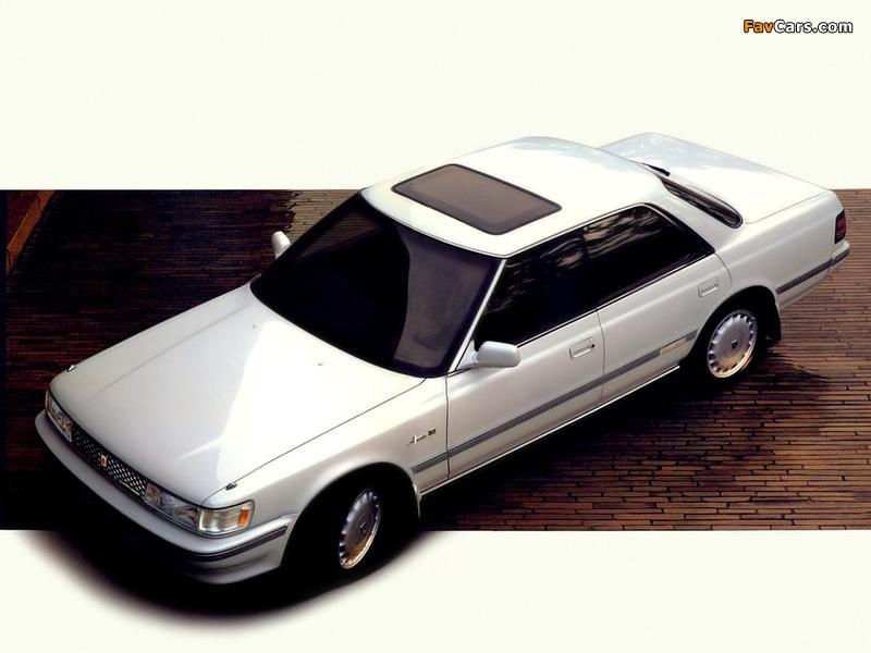 Toyota Chaser (X80) 1988 photos (800 x 600)