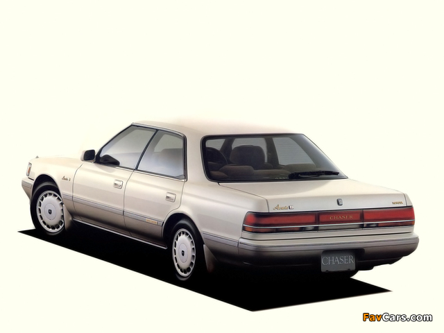 Toyota Chaser (X80) 1988–92 pictures (640 x 480)