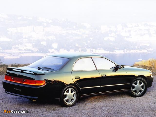 Toyota Chaser Tourer V (JZX90) 1992–94 photos (640 x 480)