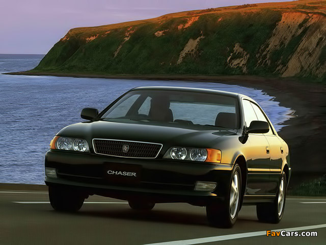 Toyota Chaser Tourer V (JZX100) 1996–98 wallpapers (640 x 480)