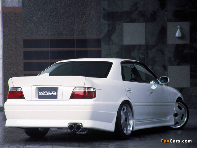 WALD Toyota Chaser (JZX100) 1998–2001 photos (640 x 480)
