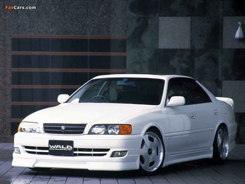 WALD Toyota Chaser (JZX100) 1998–2001 photos (800 x 600)