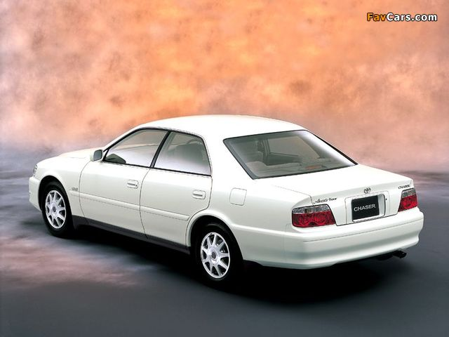 Toyota Chaser (X100) 1998–2001 pictures (640 x 480)