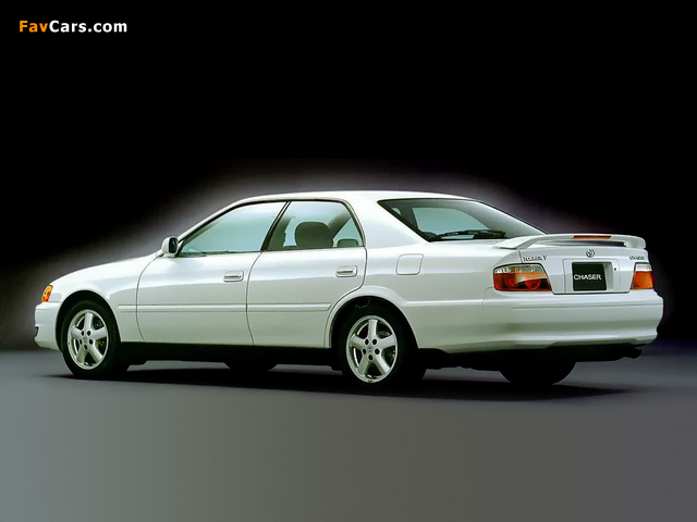 Toyota Chaser Tourer V (JZX100) 1998–2001 wallpapers (640 x 480)