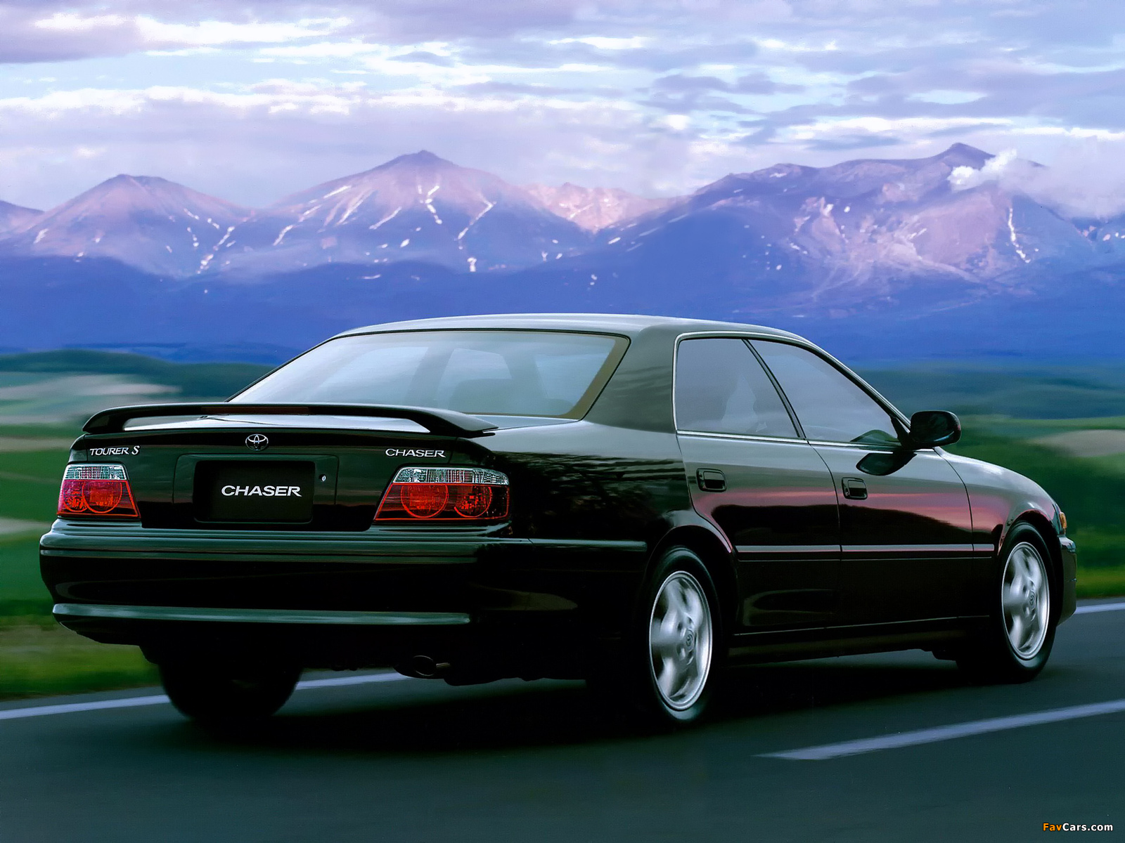 Toyota Chaser Tourer S Jzx100 1998 2001 Wallpapers