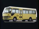 Toyota Coaster School Bus (HZB50) 1992–2001 images
