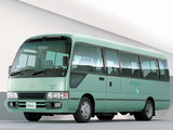 Toyota Coaster Hybrid EV (HZB50) 2001–07 wallpapers