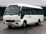 Toyota Coaster JP-spec (B50) 2007 wallpapers
