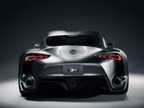 Photos of Toyota FT-1 Graphite Concept 2014