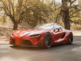 Pictures of Toyota FT-1 Concept 2014