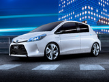 Toyota Yaris HSD Concept 2011 photos
