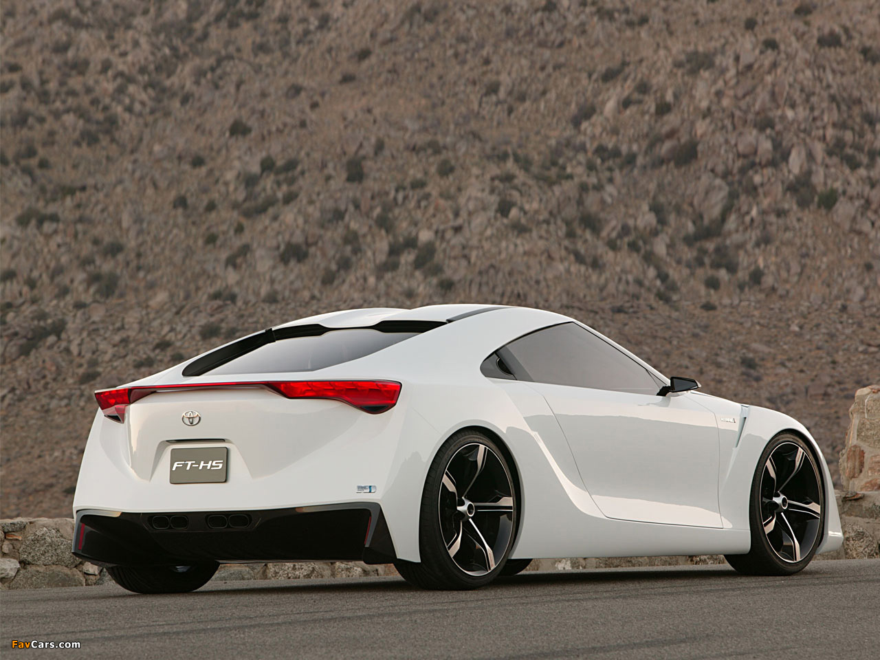 Toyota Ft Hs Concept 2007 Wallpapers 1280x960