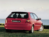 Toyota Corolla Compact 3-door (E110) 1997–99 pictures