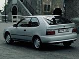Toyota Corolla Compact 3-door (E100) 1991–98 photos