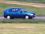 Toyota Corolla Compact 5-door (E100) 1991–98 pictures