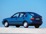 Toyota Corolla Compact 5-door (E100) 1991–98 wallpapers
